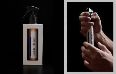 A versão spray com 45ml é vendida por 65 reais no site da empresa.