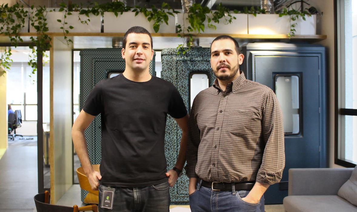 Pedro Villaça e Leandro Nunes, criadores do Enbox.
