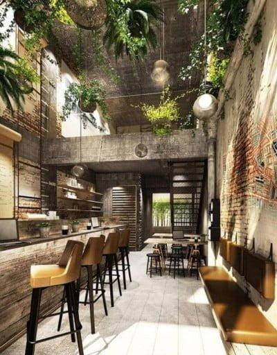 O rooftop do Civi-co vai abrigar um restaurante voltado para a gastronomia orgânica e funcional.