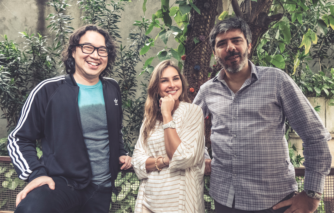 Max Nolan Shen, Mariana Rocha e Márcio Araújo, três dos 18 sócios da agência Humans(foto: Fernanda Sophia).