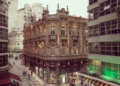 O Palacete Tereza, no centro da capital paulista, abriga a nova Casa de Francisca.