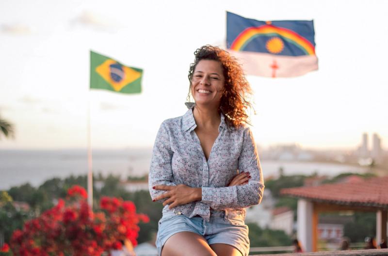 """Juliana Maia, da Nova Brasil Ambiental, saiu de São Paulo para """"ser muito mais útil"""" no Nordeste, onde criou um negócio de reciclagem de vidro (foto: Carina Calixto)."""