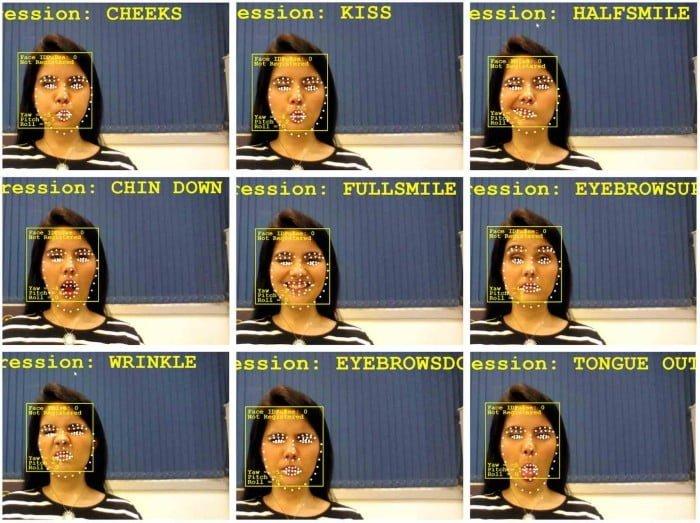 A Hoo-Box partiu de entrevistas com usuários para definir quais expressões faciais o sistema reconheceria.