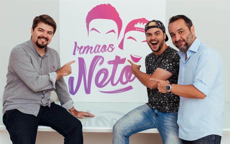João Pedro, Luccas e Cassiano apresentam o canal dos Irmãos Neto, um fenômeno do YouTube que ganha 35 mil seguidores por dia.