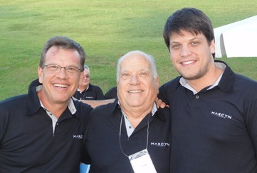 Mauro, Luiz e Marcos: as três gerações da família Zaborowsky no comando do Grupo Marcyn