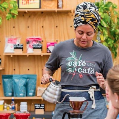 Café não é só café. Para Giele e o Pura Caffeina, é estilo de vida, é missão.