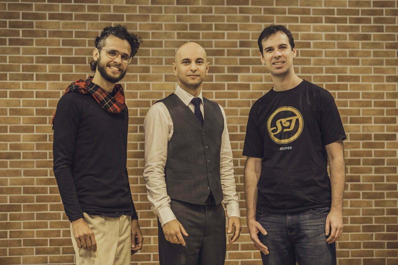 Diego Dotta, José Hamilton Vargas e Thiago Marafon estão por trás do Youper.