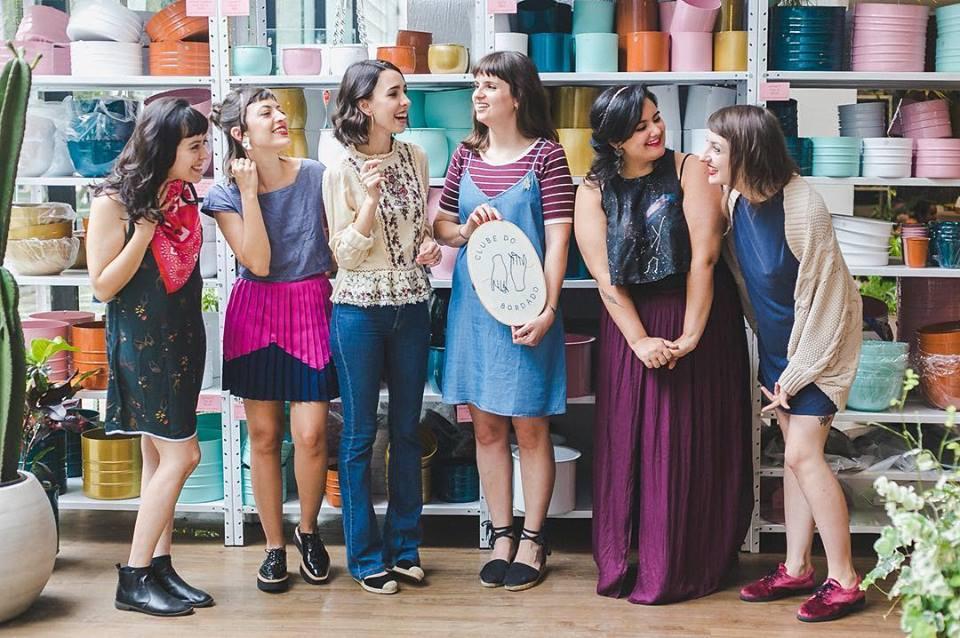 Laís Souza, Amanda Zacarkim, Camila Gomes Lopes, Marina Dini, Renata Dania e Vanessa Israel.