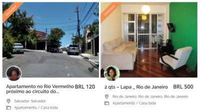 O funcionamento da Diáspora Black lembra o de outras plataformas de oferta de hospedagem, como o Airbnb. A diferença é o recorte cultural e social.