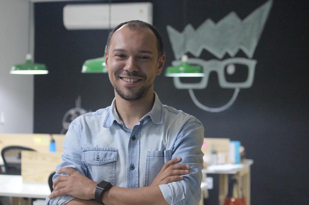César Martins, fundador da Happy Code e, há um ano, da Make Pi: tecnologia, educação e empreendedorismo de mãos dadas.