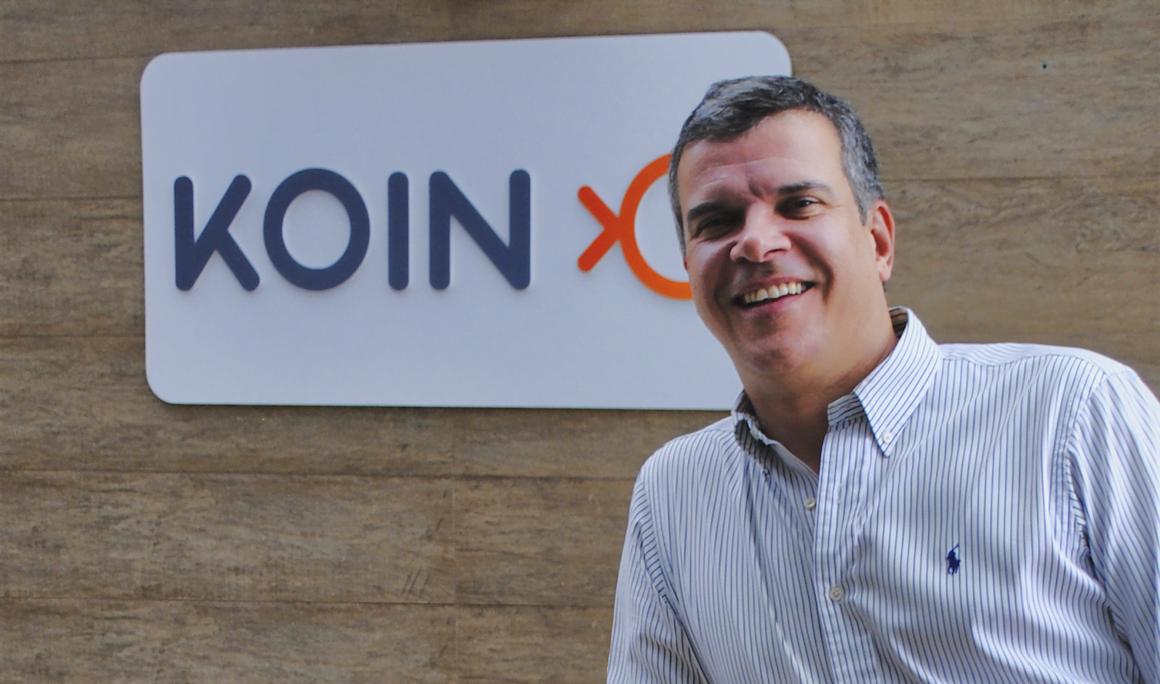 """Fundador da Koin, Ricardo Siqueira é advogado e decidiu se tornar empreendedor para """"estar na pele de quem toma as decisões""""."""