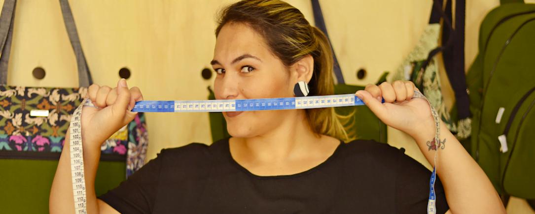 Adriana Costa começou o negócio há quatro anos e cresceu na base da colaboração, da troca e do faça-você-mesmo.