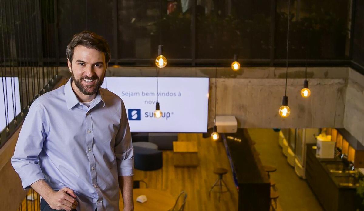 Igor Marchesini, fundador da SumUp no Brasil, fala do modelo de gestão transparente e humanista que implantou na startup (foto: Mario Rodrigues).