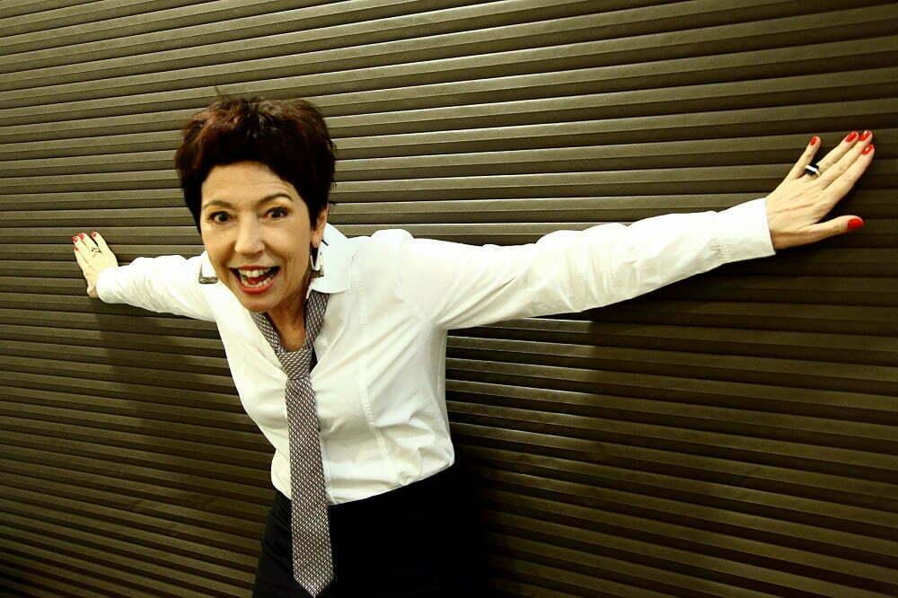 """Aos 63 anos, ela fala das experiências de vida, e da carreira premiada na publicidade, que a levaram a se tornar um """"farol"""" para empreendedores sobre o que será o amanhã (foto: Laureni Fochetto)."""