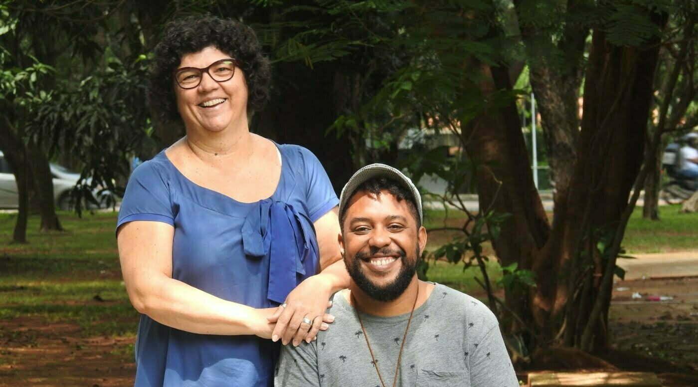 Heloísa e Vinícius atuam voluntariamente para fazer os eventos do Ossobuco acontecerem (foto: Luis Tajes).