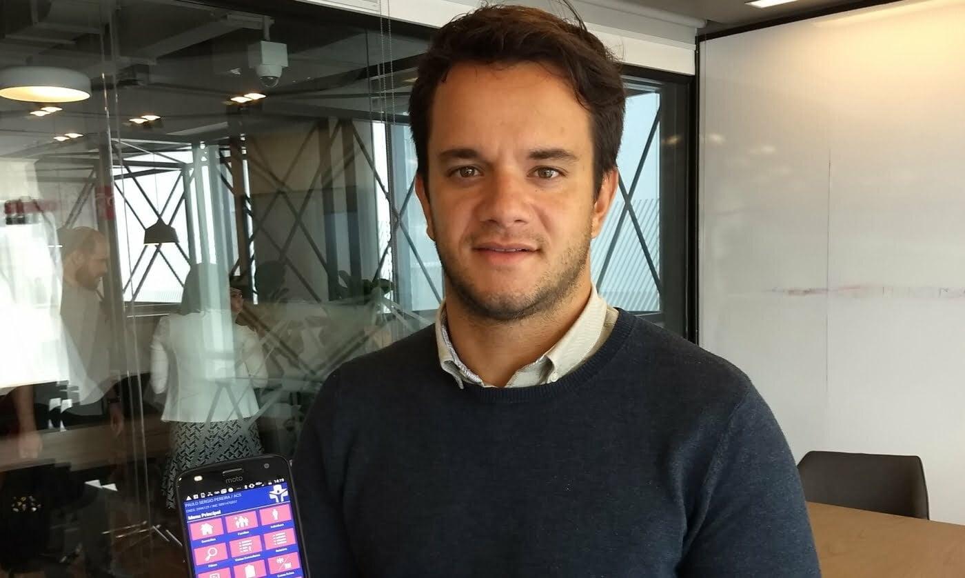 Pedro não era do setor de saúde nem de tecnologia, mas viu na junção das duas áreas uma oportunidade de empreender.