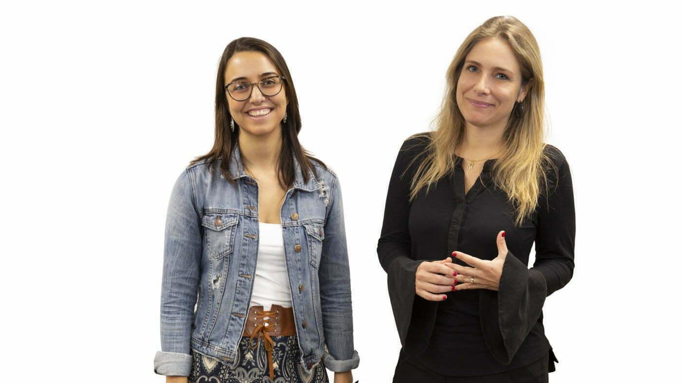 Mariana e Regina, a CEO e a sócia da Laboratoria no Brasil (da esq. para a dir.) querem ver mais mulheres no mercado de programação nos próximos anos.