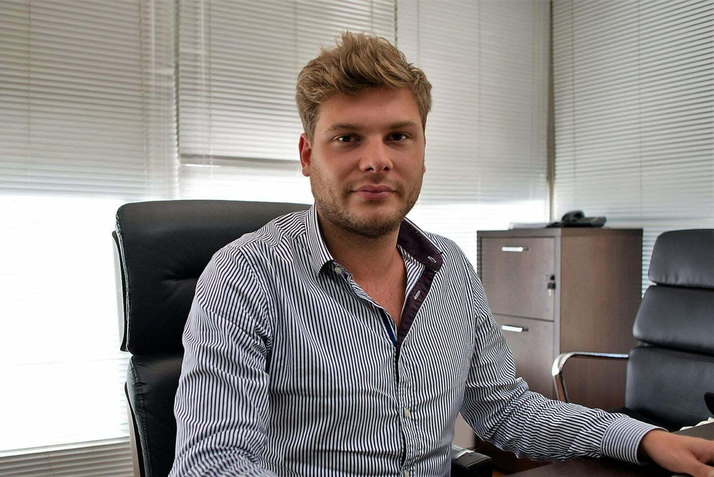 Charles-Henry Calfat Salem é meio francês, meio brasileiro e há dois anos empreende no país.