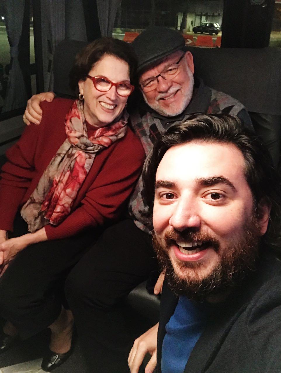 Dona Suely, seu Hélio e José Filho