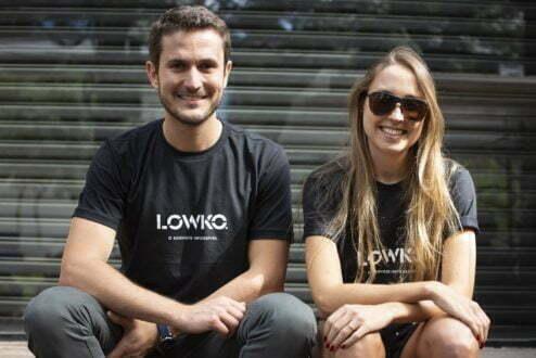 Rodrigo e a sócia Luiza Weaver. Eles trabalharam juntos na BRMalls e se reencontraram nos Estados Unidos, quando ambos pensavam em empreender.