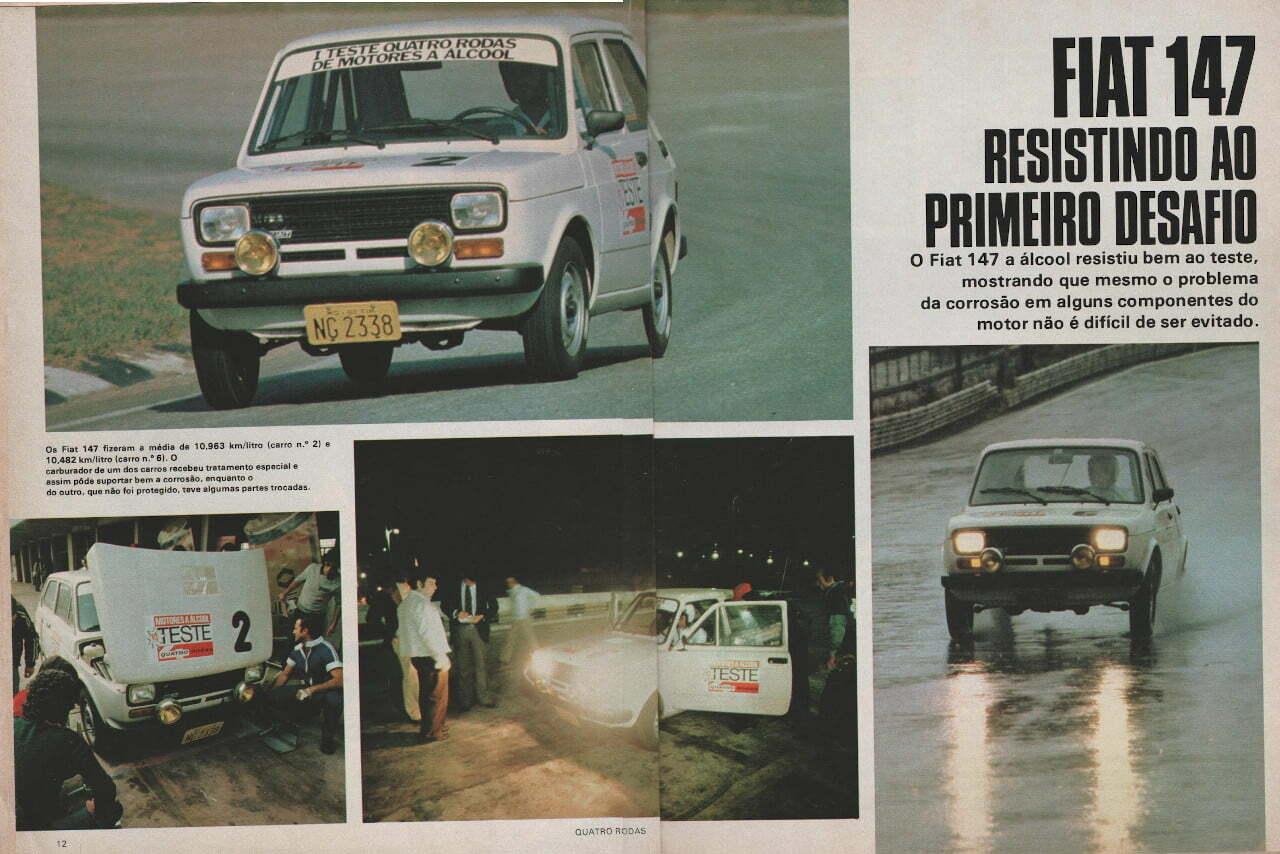 página de revista