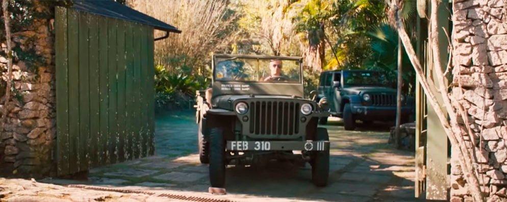 João Barone com seu Jeep