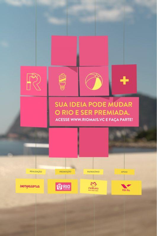 O Rio+ é um projeto-modelo do estilo Benfeitoria de trabalhar: promovendo o financiamento coletivo de ideias para o bem social