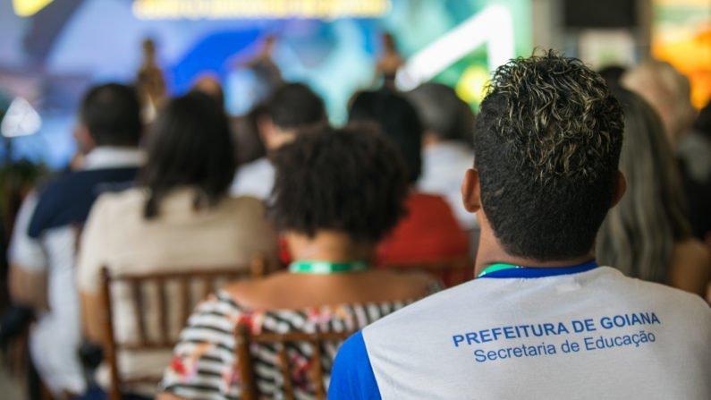 Alunos da rede de escolas municipais de Goiana