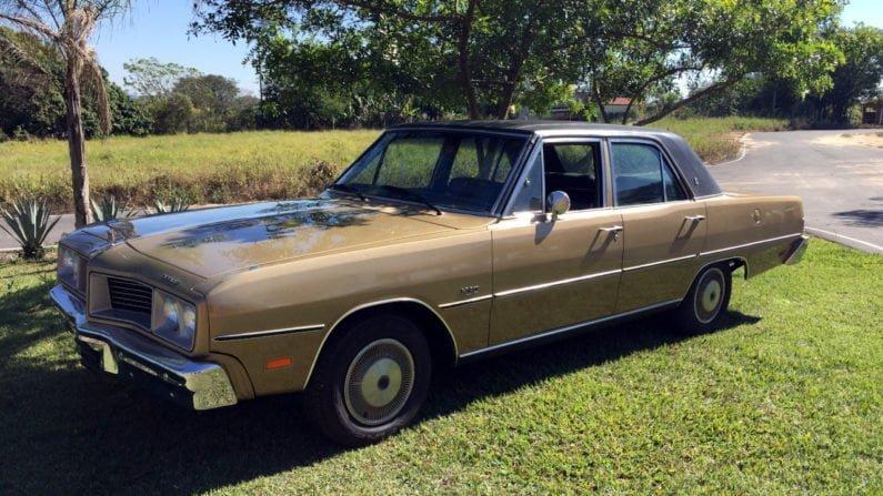 Dodge Dart Le Baron 1981 da coleção de Alexandre Badolato