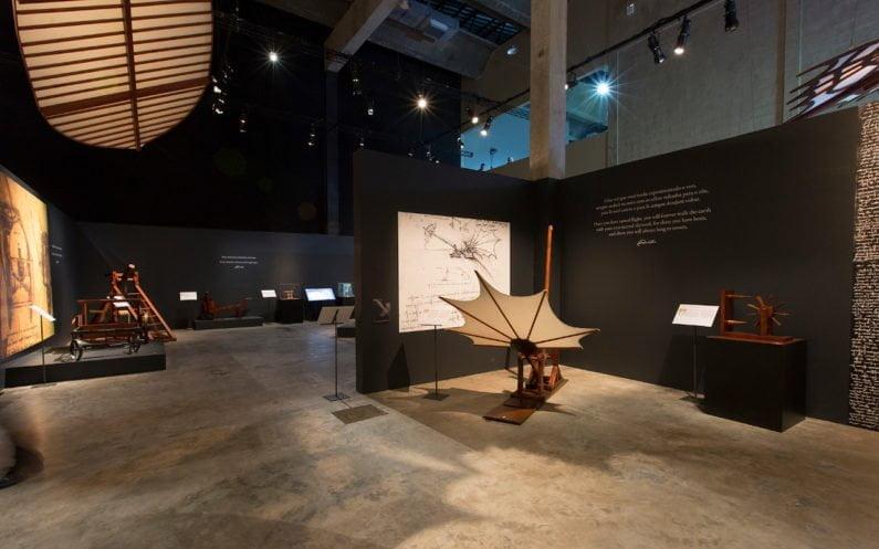 Réplicas de projetos de engenharia de Leonardo da Vinci