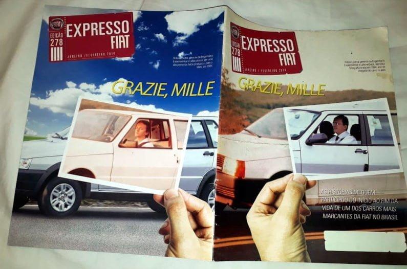 Revista Expresso Fiat com Robson Cotta