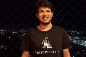 João Soares, CEO da Meritocracy. fundou a govtech durante um hackathon.