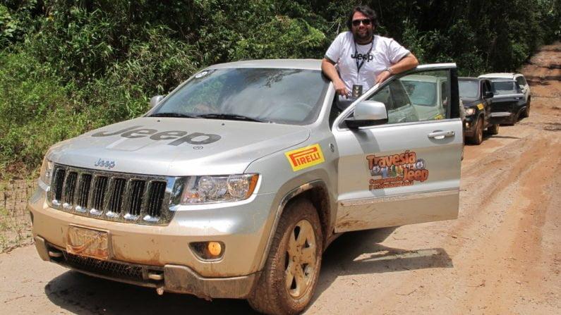 Jeep Grand Cherokee em expedição pela Venezuela com o jornalista Fernando Miragaya