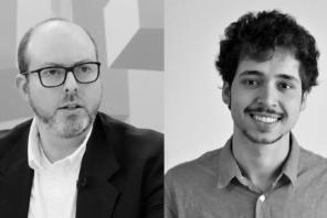 Davi e Rodrigo, da esquerda para a direita, lutam pela promulgação do Marco Legal das Startups.