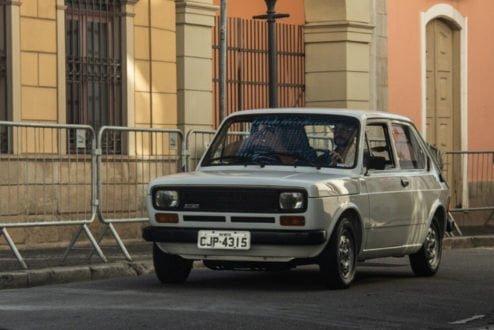 Fiat 147 no Rallye Histórico