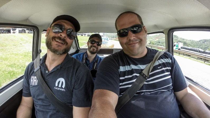 Ricardo Dilser, Felipe Bitu e Leonardo Azevedo