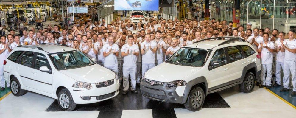 Fim da produção de Fiat Weekend