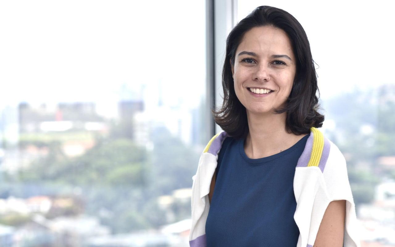 Head da área de Transformação Digital da Nestlé e responsável pelo modelo de negócio da Vem de Bolo, Carolina Sevciuc
