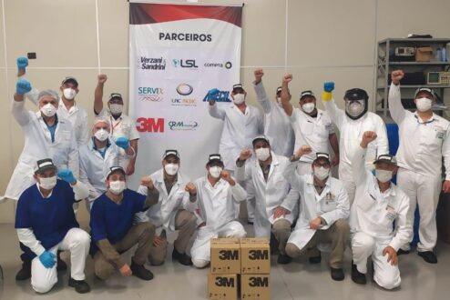 3M faz doações na pandemia