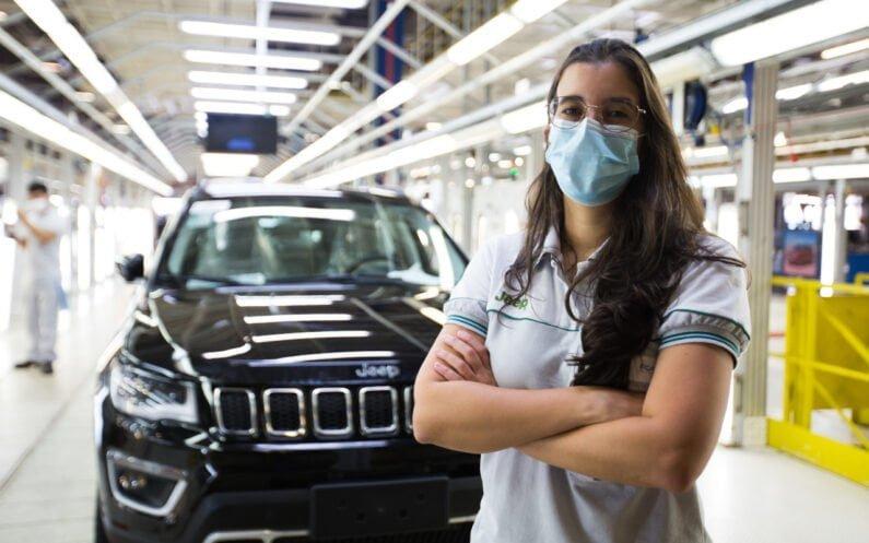 Juliana Coelho, plant manager do Polo Automotivo Jeep