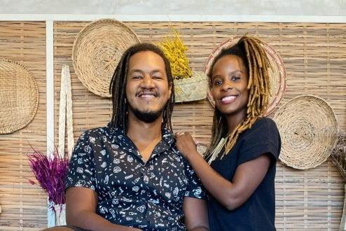 Monique Evelle e Lucas Santana, fundadores da Inventivos.