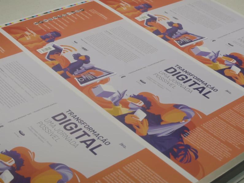 Produção do livro Transformação Digital: uma jornada possível.